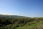 Israel, a view northwest from et-Tell identified with ancient Bethsaida
