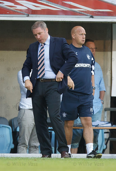 Dejection from Ally McCoist