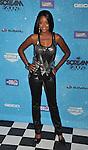 LOS ANGELES, CA. - October 17: Tanedra Howard arrives at Spike TV's Scream 2009 held at the Greek Theatre on October 17, 2009 in Los Angeles, California.