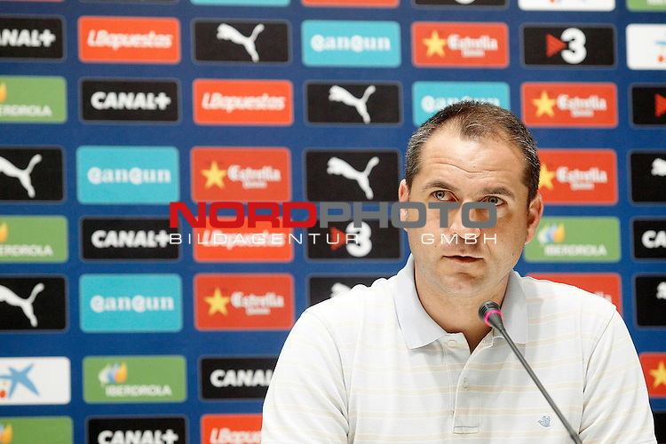 Espanyol's General Manager Oscar Perarnau.August 29, 2013. Foto © nph / Acero)