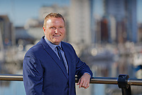 Dean Brain, company director of Fresh Estate and Letting Agents at Swansea Marina, south Wales, UK. Thursday 18 October 2018