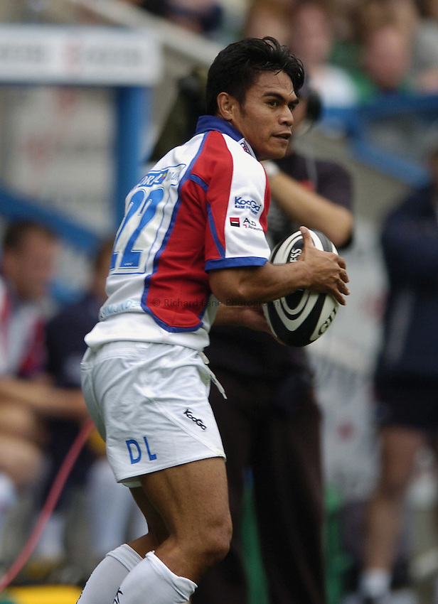 Photo: Jonathan Butler..London Irish v Bristol Rugby. Guinness Premiership. 16/09/2006..David Lemi of Bristol.
