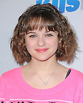 Joey King attends the 102.7 KIIS FM'S Jingle Ball 2012 held at The Nokia Theater Live in Los Angeles, California on December 01,2012                                                                               © 2012 DVS / Hollywood Press Agency