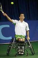 17-11-07, Netherlands, Amsterdam, Wheelchairtennis Masters 2007, Robin Ammerlaan