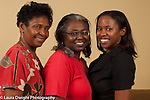 Three generations of women: grandmother, mother, and grown daughter horizontal