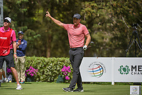 Lucas Bjerregaard (DEN) watches his tee shot on 8 during round 2 of the World Golf Championships, Mexico, Club De Golf Chapultepec, Mexico City, Mexico. 2/22/2019.<br /> Picture: Golffile | Ken Murray<br /> <br /> <br /> All photo usage must carry mandatory copyright credit (&copy; Golffile | Ken Murray)