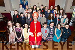 Pupils from Castlegregory NS pictured with the Bishop of Kerry Ray Browne after their Confirmation on Monday in St. Mary's Church, Castlegregory.