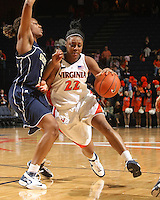 Women's basketball vs GT. Monica Wright