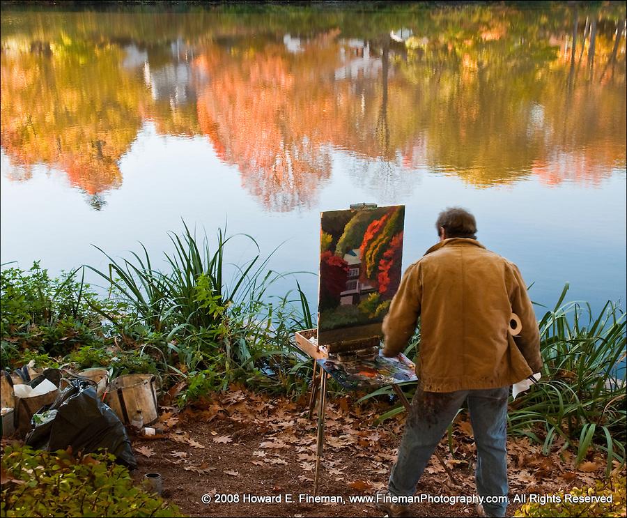 Bullough's Pond Artist