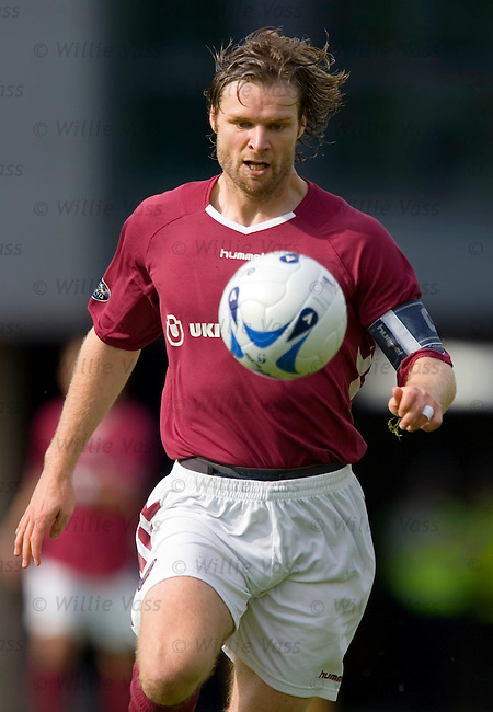 Steven Pressley, Hearts.stock season 2005-2006.pic willie vass