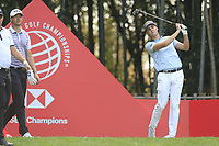 Matthais Schwab (AUT) on the 17th tee during the final round of the WGC HSBC Champions, Sheshan Golf Club, Shanghai, China. 03/11/2019.<br /> Picture Fran Caffrey / Golffile.ie<br /> <br /> All photo usage must carry mandatory copyright credit (© Golffile | Fran Caffrey)