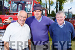 Attending the O'Riadas Vintage &amp; Family Fun Day in Ballymac on Sunday.<br /> L to r: Mike Egan (Currans), Pady Breen )Scartaglin) Tony Marshall from Ballymac.