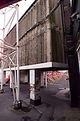 23/06/2000 Blackpool FC Bloomfield Road Ground..rear of the south west stand.....© Phill Heywood.