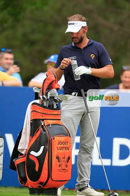 Joost Luiten (NED) on the 16th tee during the 3rd round of the DP World Tour Championship, Jumeirah Golf Estates, Dubai, United Arab Emirates. 17/11/2018<br /> Picture: Golffile | Fran Caffrey<br /> <br /> <br /> All photo usage must carry mandatory copyright credit (&copy; Golffile | Fran Caffrey)