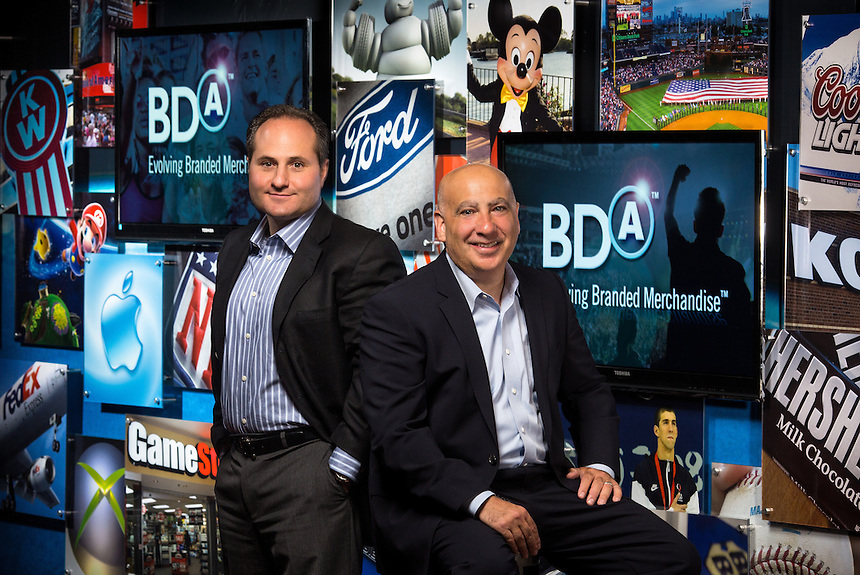 The co-founders of BDA Inc., CEO Jay Deutsch and president Eric Bensussen, are shown in the company's exhibition room at their Woodinville headquarters Thursday, June 29, 2012. (Photos by Andy Rogers/Red Box Pictures)