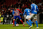 9th January 2018, Wanda Metropolitano, Madrid, Spain; Copa del Rey football, round of 16, second leg, Atletico Madrid versus Lleida; Yannick Carrasco (Atletico de Madrid) in action