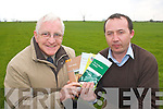 Joe Barry (left) South Kerry Skillnets project manager and Emmett Spring Rural Development officer for South Kerry Development Partnership who offer advice and hold Courses/education for South Kerry farmers   Copyright Kerry's Eye 2008