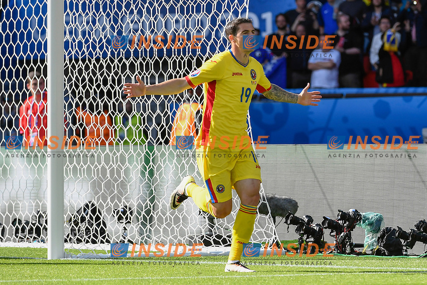 Esultanza Gol Bogdan Stancu (ROMANIA) Goal celebration <br /> Paris 15-06-2016 Parc Des Princes Footballl Euro2016 Switzerland - Romania / Svizzera - Romania Group Stage Group A. Foto Alain Grosclaude/freshfocus/Insidefoto