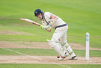 Picture by Allan McKenzie/SWpix.com - 07/09/2017 - Cricket - Specsavers County Championship - Yorkshire County Cricket Club v Middlesex County Cricket Club - Headingley Cricket Ground, Leeds, England - Middlesex's Sam Robson hits out against Middlesex.