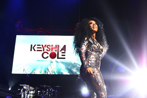 BROOKLYN, NEW YORK - MAY 7, 2016 Keyshia Cole performs at The Barclays Center, May 7, 2016 in New York City. Photo Credit: Jamel Johnson / Media Punch