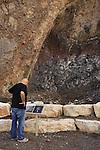 Israel, Lower Galilee, the geological park in Aebel valley