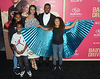 Jaime Foxx &amp; family at the Los Angeles premiere for &quot;Baby Driver&quot; at the Ace Hotel Downtown. <br /> Los Angeles, USA 14 June  2017<br /> Picture: Paul Smith/Featureflash/SilverHub 0208 004 5359 sales@silverhubmedia.com