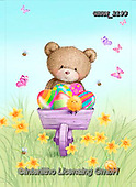 Roger, EASTER, OSTERN, PASCUA, paintings+++++,GBRM2193,#e#, EVERYDAY ,bear,bears,