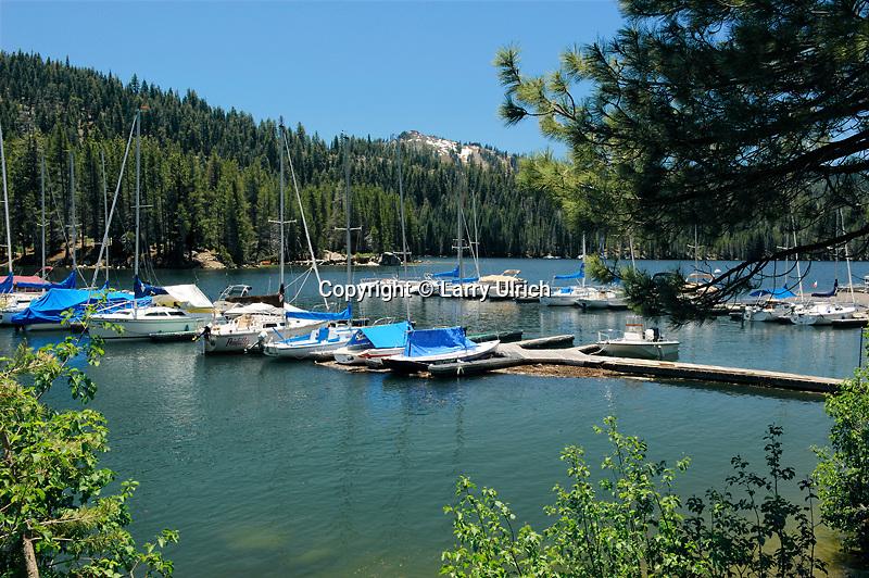 Huntington Lake<br /> Sierra National Forest<br /> Sierra Nevada<br /> California