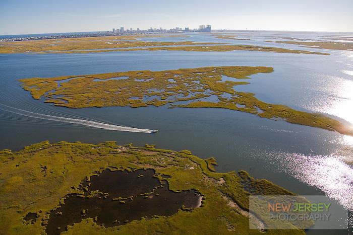 Brigantine, Salt Marsh, New Jersey