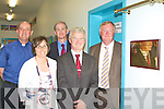 Ceann Comha?irle John O'Donoghue unvails a plaque at the official opening of the new extension in Faha National School on Monday l-r: Fr Pat O'Donnell, Teresa Clifford, Pat Foley Principal, Philip O'Neill and Ceann Comha?irle John O'Donoghue