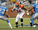 CHRIS PRESSLEY, of the Cincinnati Bengals in action during the Bengals game against the Detroit Lion on August 12, 2011 at Ford Field in Detroit, Michigan. The Lions beat the Bengals 34-3.