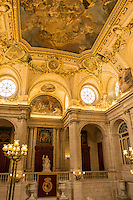 No inch of the interior of Madrid's Royal Palace is left untouched with lavish elements.
