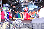 Luxembourg Rose Nicola McEvoy, the 2012 Rose of Tralee arriving at the Denny Street stage on Tuesday for Midnight Madness.