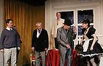 "Daniel Damiano & Bill Tatum & David M. Mead & Noah Keen & Dee Dee Friedman  star in Moliere's ""Tartuffe"" from Jan. 13 to Jan 29 at the WorkShop Theatre, New York City, New York. Photos on costume were taken on January 9, 2011. (Photo by Sue Coflin/Max Photos)"