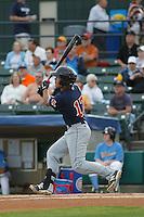 Salem Red Sox infielder Tzu-Wei Lin (17) at bat during a game against the Myrtle Beach Pelicans at Ticketreturn.com Field at Pelicans Ballpark on May 5, 2015 in Myrtle Beach, South Carolina.  Myrtle Beach defeated Salem  5-2. (Robert Gurganus/Four Seam Images)