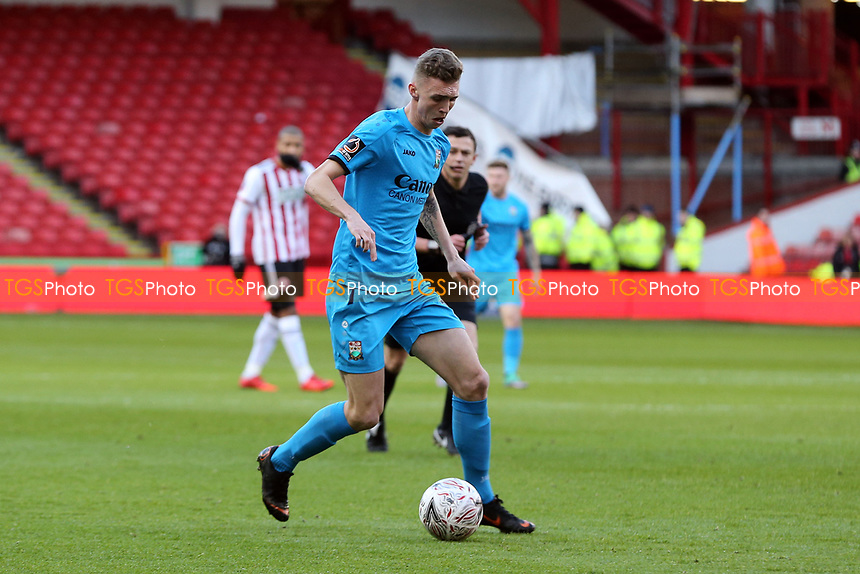 Jack Taylor of Barnet during Sheffield United vs Barnet, Emirates FA Cup Football at Bramall Lane on 6th January 2019