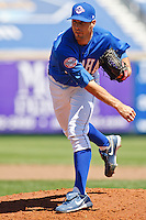 Blake Johnson May 5th, 2010; Oklahoma CIty Redhawks vs Omaha Royals at historic Rosenblatt Stadium in Omaha Nebraska.  Photo by: William Purnell/Four Seam Images