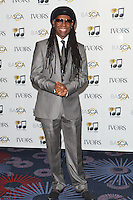Nile Rodgers arriving for the 59th Ivor Novello Awards, at the Grosvenor House Hotel, London. 22/05/2014 Picture by: Alexandra Glen / Featureflash