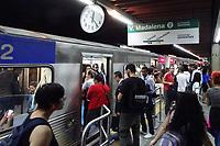 Sao Paulo (SP), 24/07/2019 - Movimentação de passageiros na estação Ana Rosa do Metrô, no sentido Vila Madalena (Linha Verde), nesta quarta-feira, 24. ( Foto Charles Sholl/Brazil Photo Press)