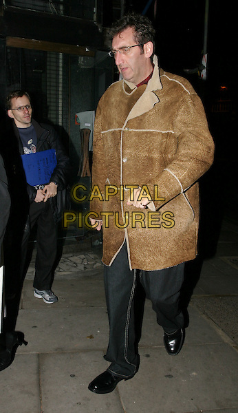 JIMMY NAIL.The Singing Detective UK Gala Screening, Everyman Cinema.full length, full-length, sheepskin coat, walking.www.capitalpictures.com.sales@capitalpictures.com.© Capital Pictures.