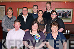 ..DINNER: The family of Michelle Gaynor (Ballyheigue) brought her for dinner to Kirby's Brogue Inn,Tralee on Friday night to celebrate her 21st Birthday. Front l-r: Patrick, Michelle(birthday girl) and Marian Gaynor. Back l-r: Margaret McCarthy, David Gaynor, James McCarthy, Bridget Donegan, Colin O'Mahony and Liz Gaynor..........   Copyright Kerry's Eye 2008