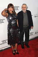 www.acepixs.com<br /> April 19, 2017  New York City<br /> <br /> Grace Hightower and Robert De Niro attending the 'Clive Davis: The Soundtrack of Our Lives' 2017 Opening Gala of the Tribeca Film Festival at Radio City Music Hall on April 19, 2017 in New York City. <br /> <br /> Credit: Kristin Callahan/ACE Pictures<br /> <br /> <br /> Tel: 646 769 0430<br /> Email: info@acepixs.com