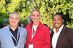 LOS ANGELES - APR 9: Stuart Berkovitz, Scott Mauro, Emmanuel Freeman at The Actors Fund's Edwin Forrest Day Party and to commemorate Shakespeare's 453rd birthday at a private residence on April 9, 2017 in Los Angeles, California