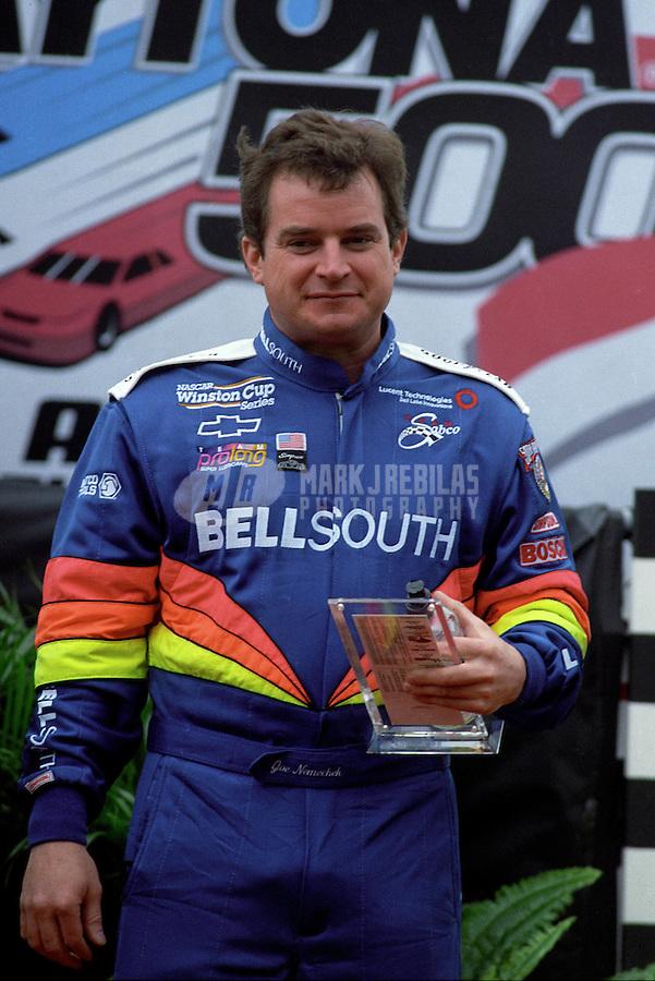 Feb. 15, 1998; Daytona Beach, FL, USA; NASCAR Winston Cup Series driver Joe Nemechek during the Daytona 500 at the Daytona International Speedway. Mandatory Credit: Mark J. Rebilas-