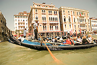 For centuries gondolas were the chief means of transportation and most common watercraft within Venice. It is estimated that there were eight to ten thousand gondolas on the waters of Venice during the 17th and 18th centuries. Today the iconic boats are an expensive tourist experience.