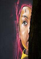Street-art in Hanoi, Vietnam,