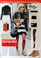 More Magazine<br /> Fearne Cotton by DYL<br /> 40782<br /> tearsheet