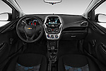 Stock photo of straight dashboard view of 2016 Chevrolet Spark LS Manual 1SA 5 Door Hatchback Dashboard