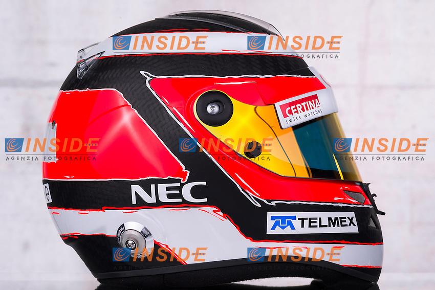 formula 1: Test  Jerez 04/02/2013.NICO HULKENBERG(GER) - SAUBER C32 - .Casco ...Foto Insidefoto / ITALY ONLY