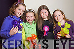 Jennifer McLoughlin, Sarah Looney, Blathnaid McCarthy and Ava McGrath, pictured at the Tralee Circus Festival on Saturday.